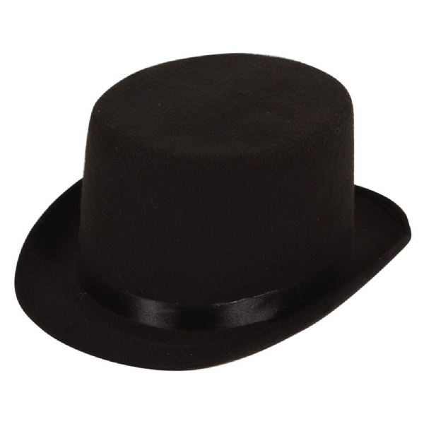 Top Hat - Black - Deluxe